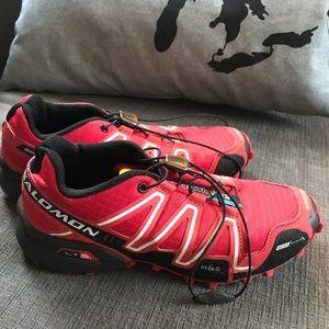 Salomon Speedcross 3 Red Trailrunning Shoe Women 7.5